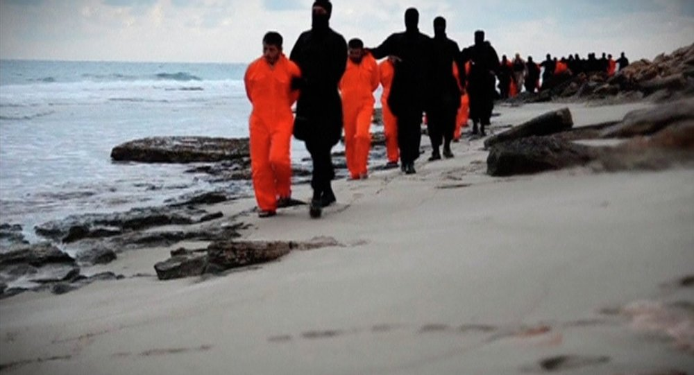 داعش يعدم مصريين