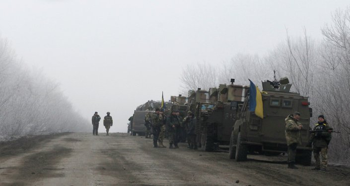 آليات من الجيش الأوكراني