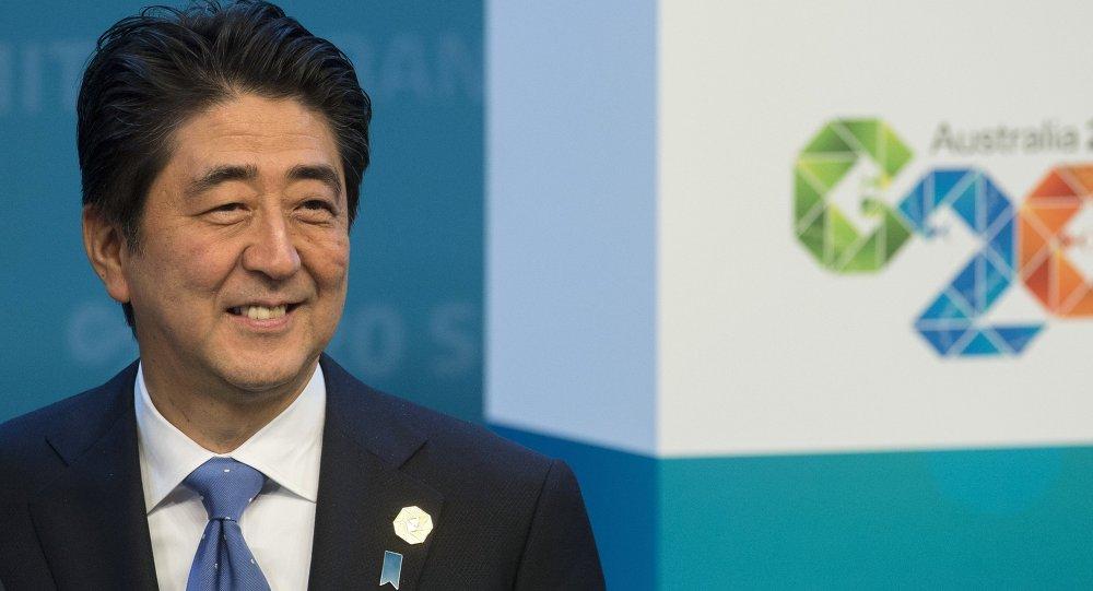 رئيس الوزراء الياباني آبي