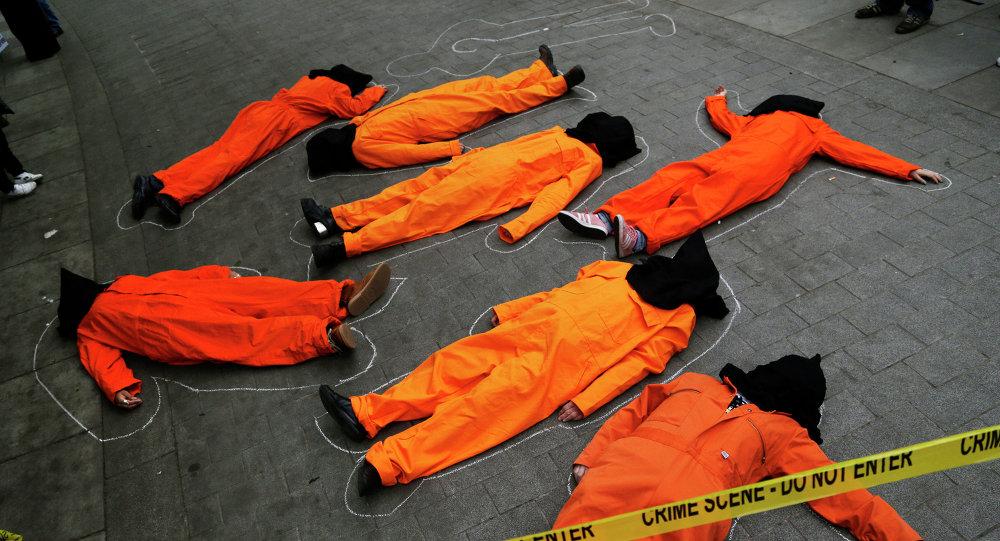 احتجاجات ضد سجن غوانتانامو