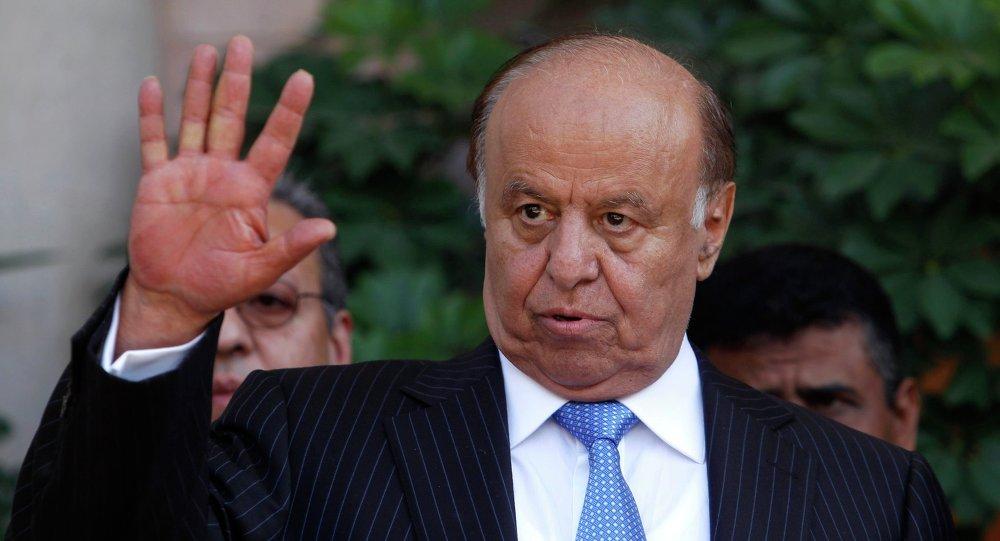 رئيس اليمن عبدربه منصور هادي