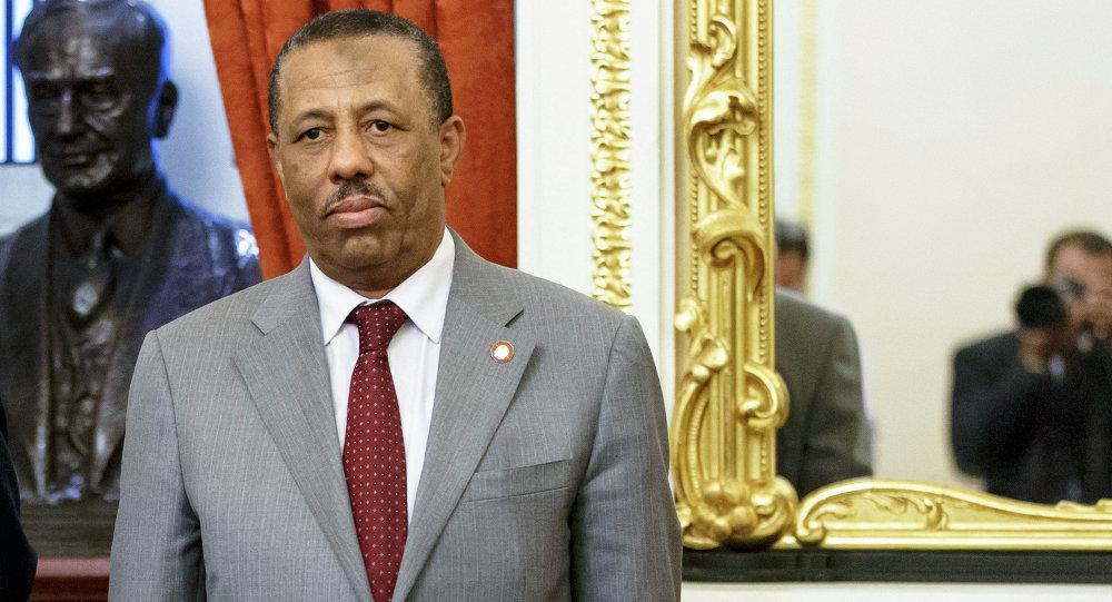 رئيس الوزراء الليبي، عبد الله الثني