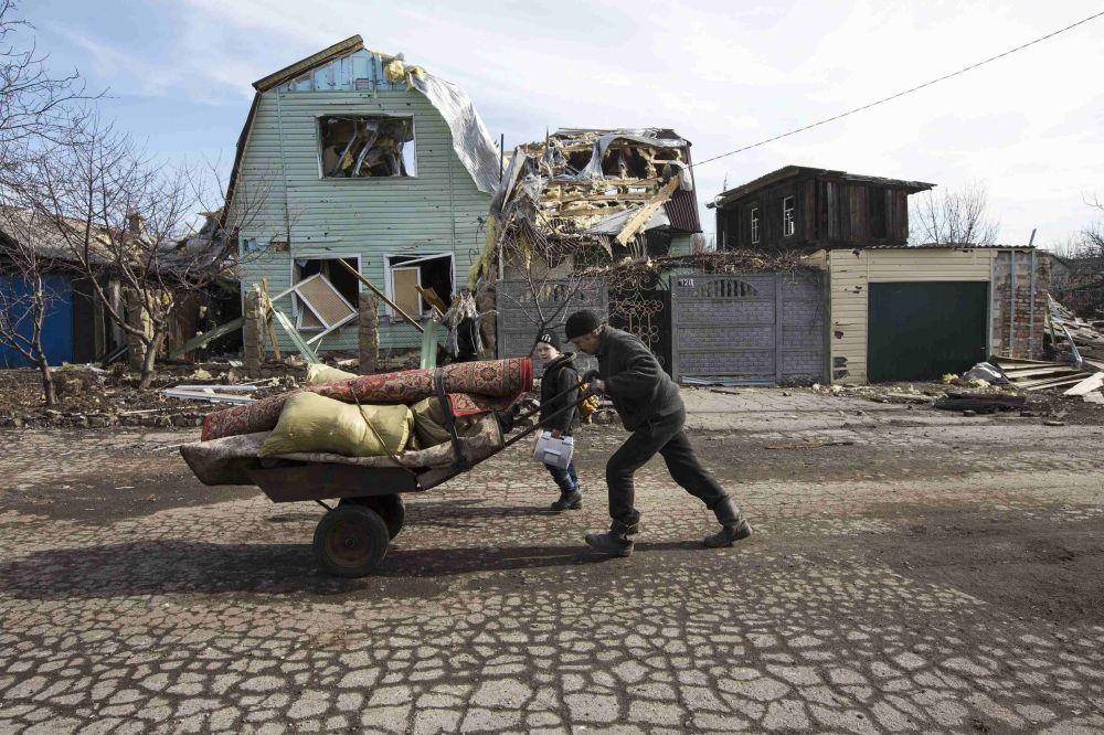الوضع في دبالتسيفو الأوكرانية
