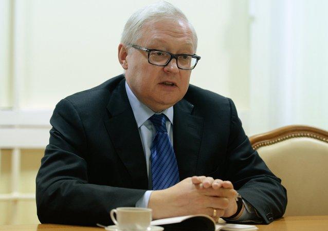 نائب وزير الخارجية الروسي، سيرغي ريابكوف