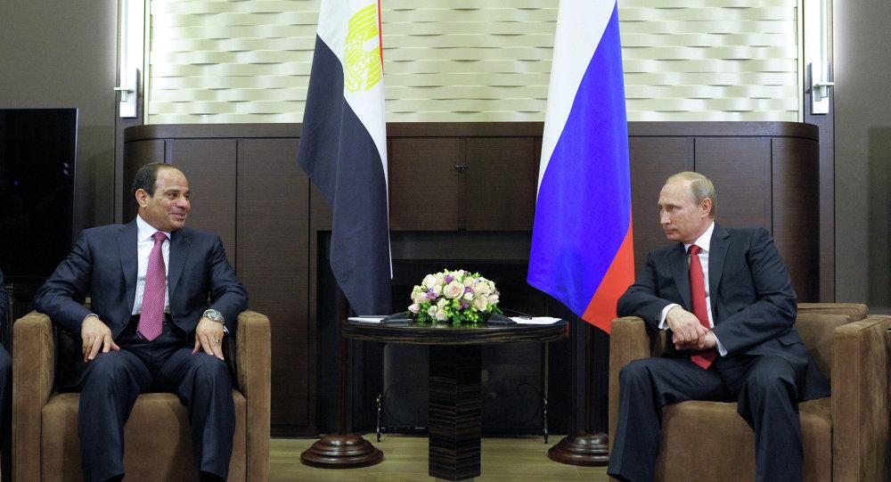 فلاديمير بوتين وعبد الفتاح السيسي