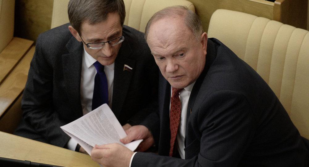 جلسة للدوما (مجلس النواب الروسي)