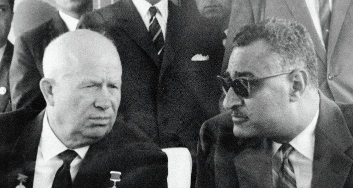 نيكيتا خروشوف وجمال عبد الناصر