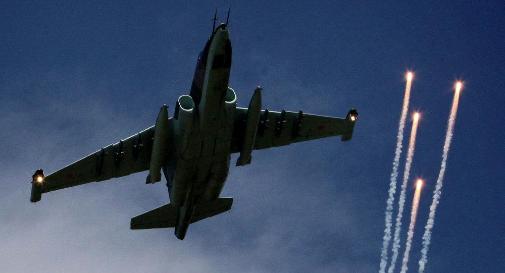 طائرة هجومية نفاثة SU-25
