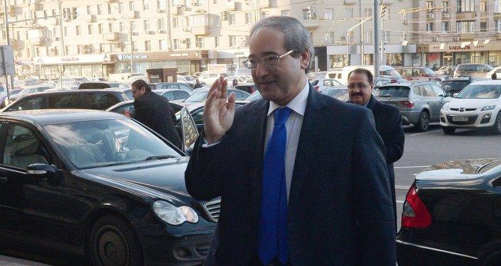 نائب وزير الخارجية السوري فيصل المقداد