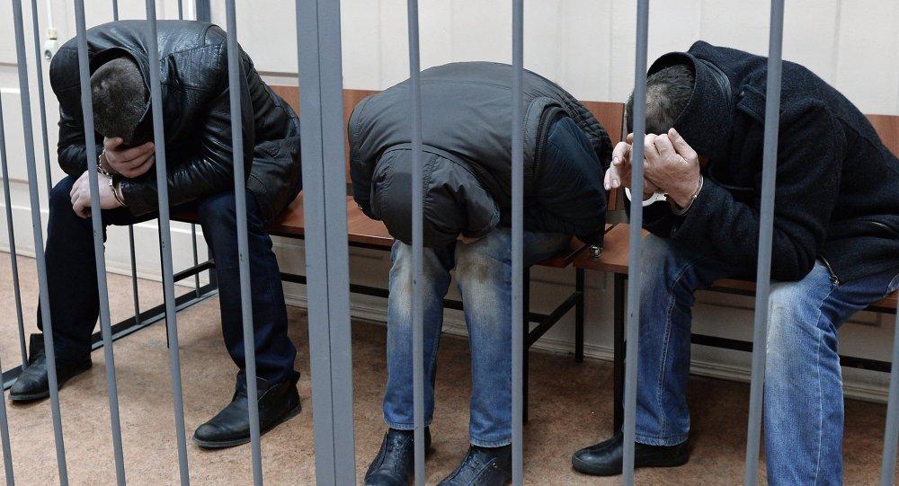 المشتبه فيهم بقتل بوريس نيمتسوف