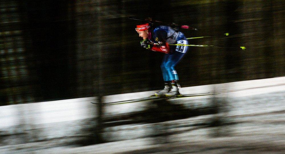 بطلة العالم في البياتلون الروسية يكاتيرينا يورلوفا