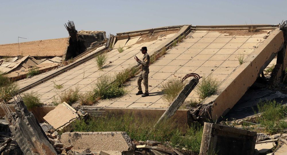 قبر صدام حسين