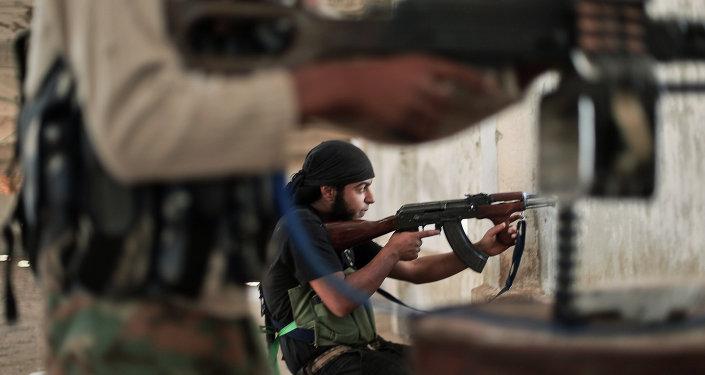 الأجانب يحاربون في صفوف المعارضة في سوريا