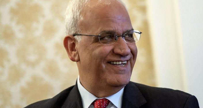 كبير المفاوضين الفلسطينيين صائب عريقات