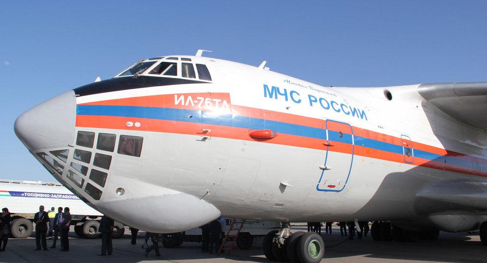 طائرة تابعة لوزارة الطوارئ الروسية