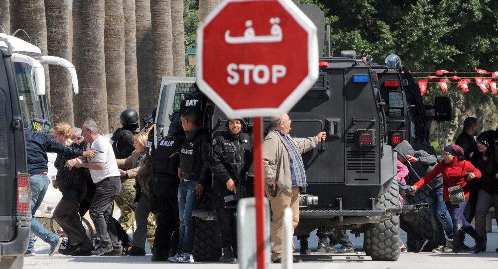 إخلاء السياح من متحف باردو في تونس