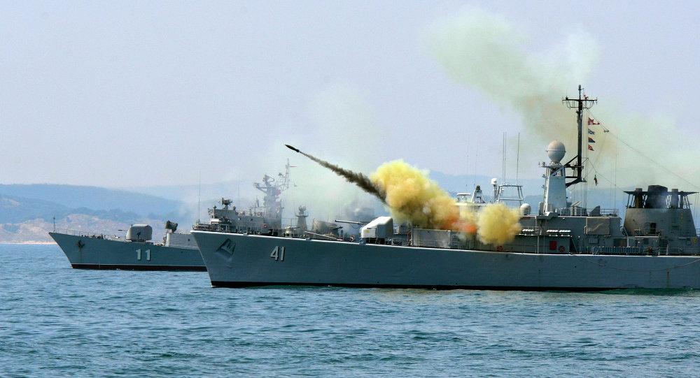 مناورات الناتو في بحر البلطيق