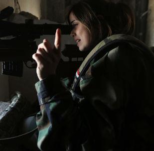 قناصة سورية صورة تعبيرية