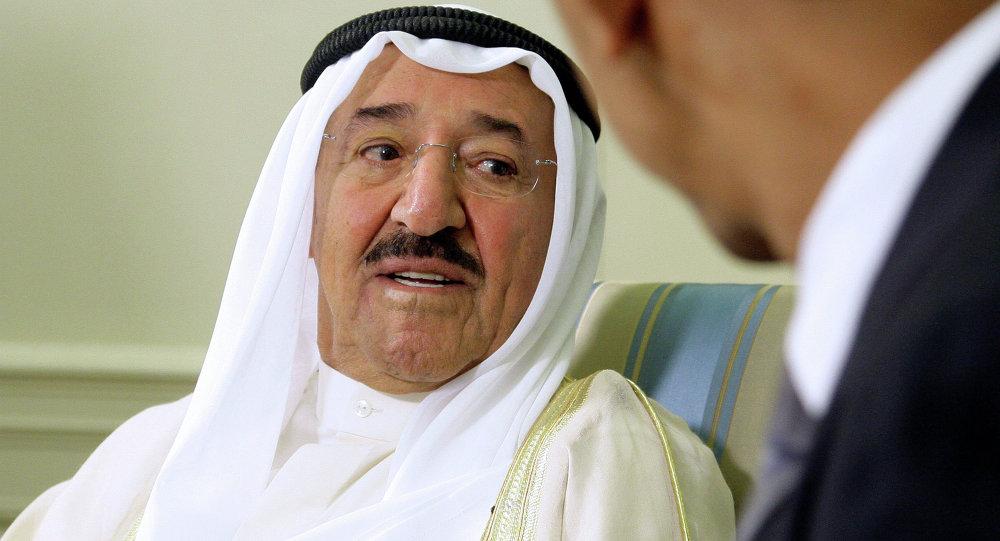 أمير الكويت صباح الأحمد جابر الصباح
