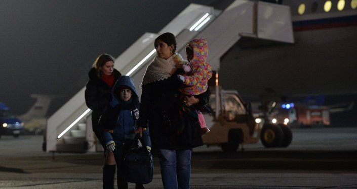 وصول الرعايا الروس ورعايا الدول الأخرى إلى موسكو من اليمن