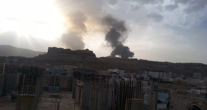 صنعاء - طيران تحالف - قصف - مخازن نفط