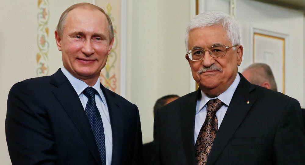 الرئيس محمود عباس والرئيس فلاديمير بوتين