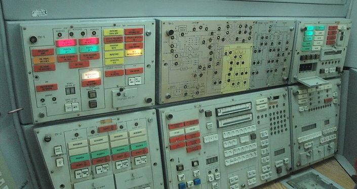 مركز تحكم لإطلاق الصواريخ