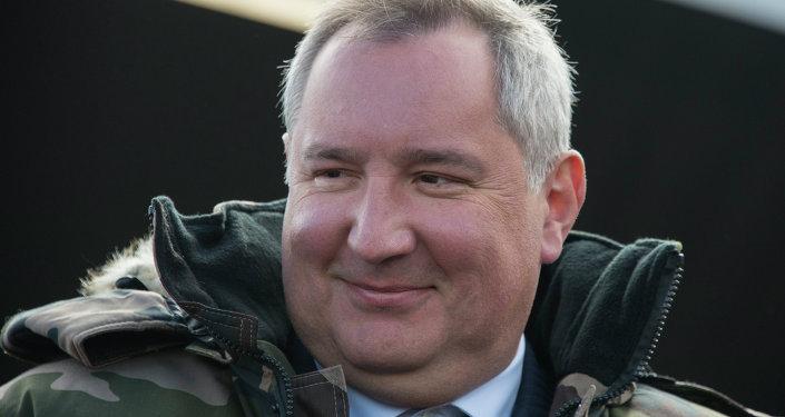 رئيس وكالة الفضاء الروسية روسكوسموس ديمتري روغوزين