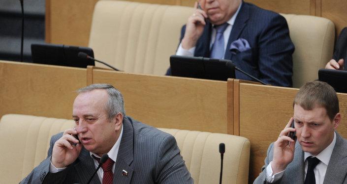 فرانز كلينزيفيتش في جلسة عامة لمجلس النواب الروسي