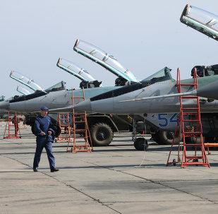 طائرات سلاح الجو الروسي من طراز ميغ-29