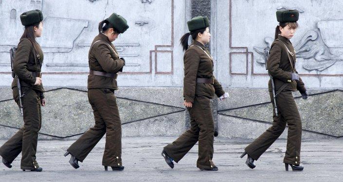نساء في جيش كوريا الشمالية