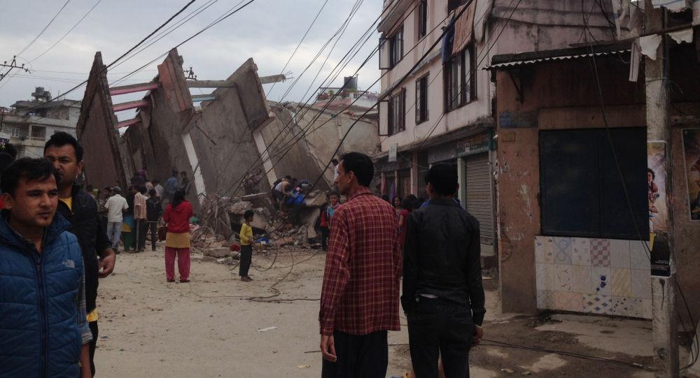 زلزال في نيبال
