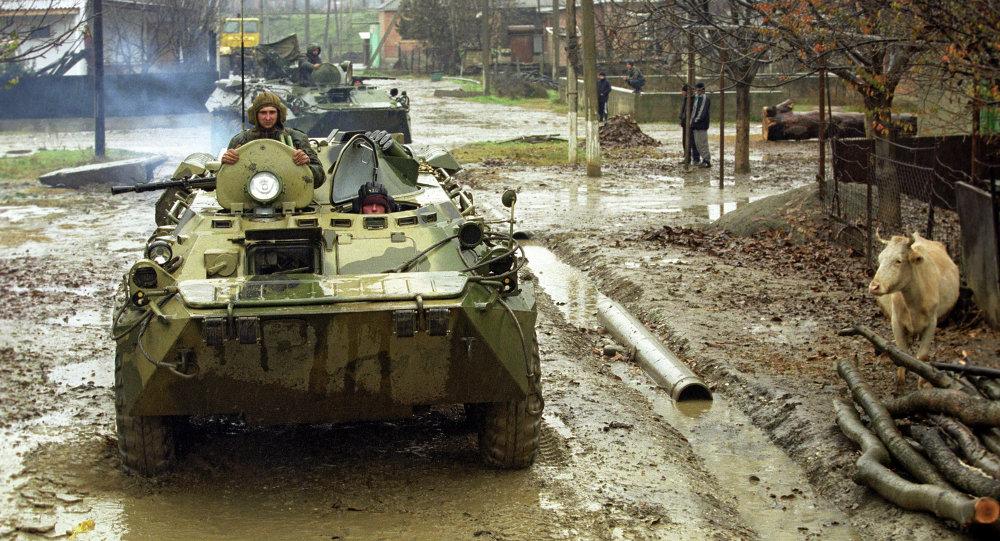 القوات الحكومية في شمال القوقاز الروسي