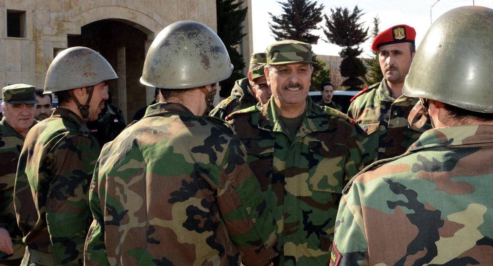 وزیر الدفاع السوري العماد فهد جاسم الفریج