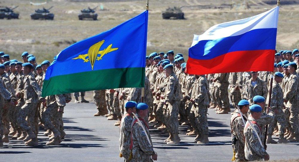 مناورات عسكرية مشتركة بين دول  الأمن الجماعي