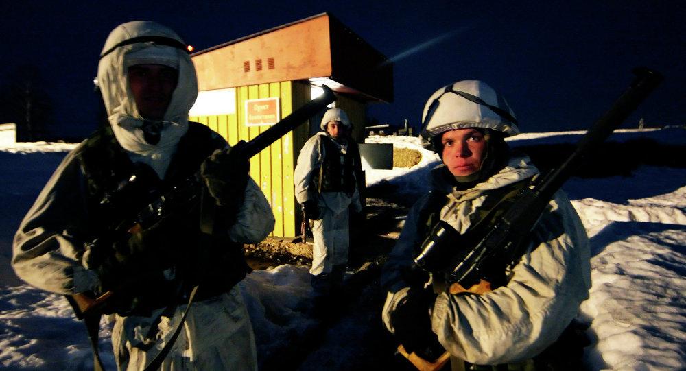 رجال المخابرات الحربية والاستطلاع بالجيش الروسي