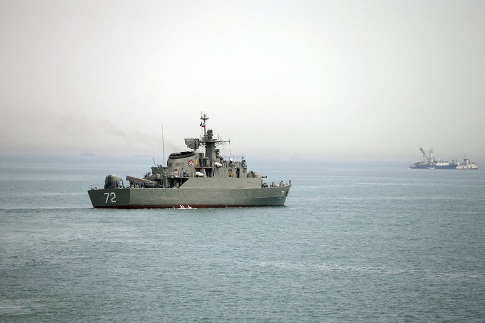 سفينة حربية إيرانية