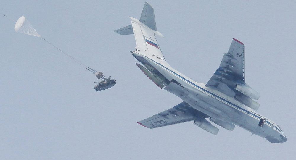 طائرة تابعة لقوات المظلات الروسية
