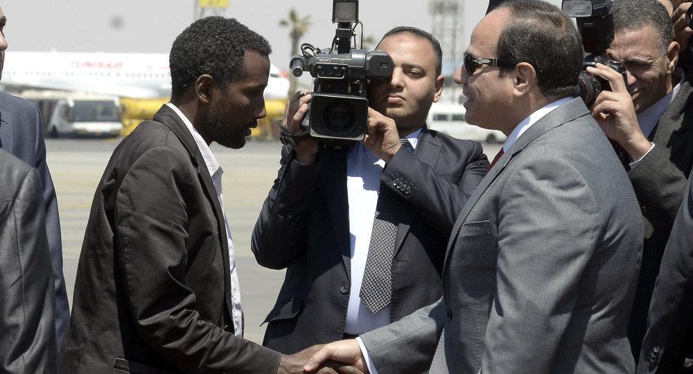 مصر تحرر إثيوبيين اختطفوا في ليبيا