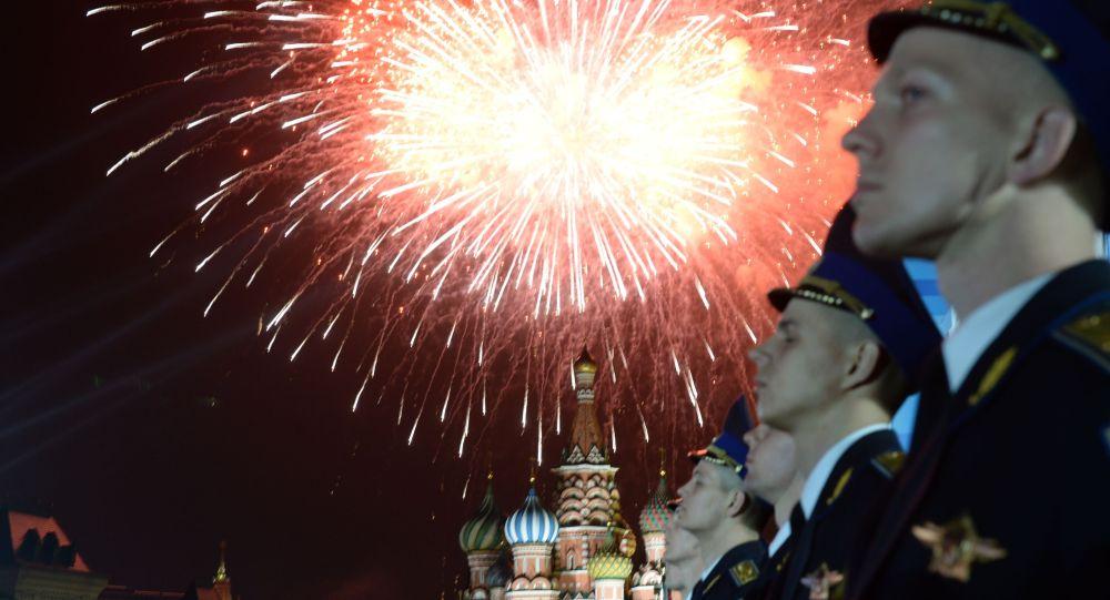 موسكو تحتفل بعيد النصر