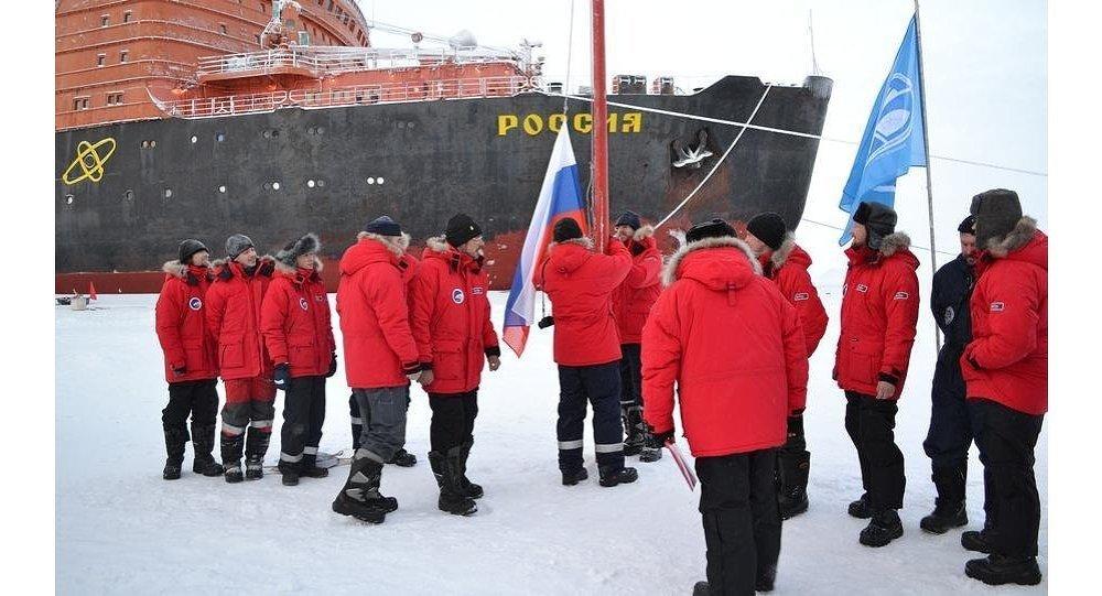 افتتاح المحطة البحثية الروسية في القطب الشمالي