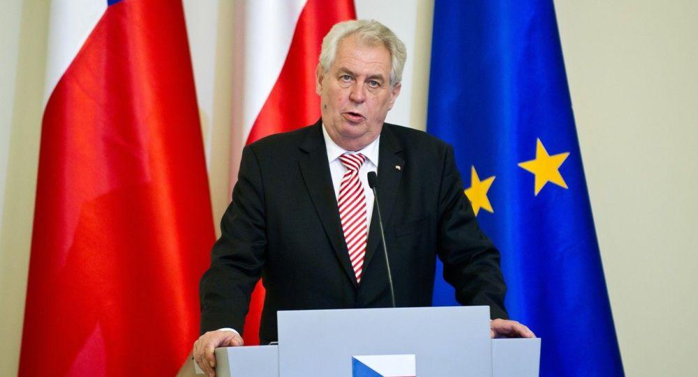 ميلوش زيمان، رئيس جمهورية التشيك