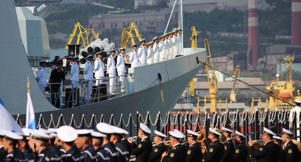 المناورات الروسية الصينية التعاون البحري-2015