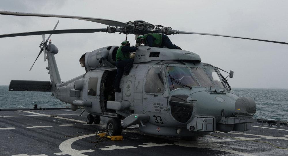 مروحية أمريطية من طراز MH-60R