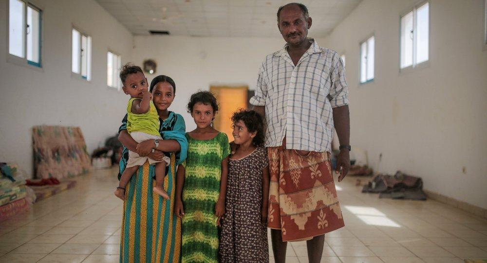 اللاجئون اليمنيون