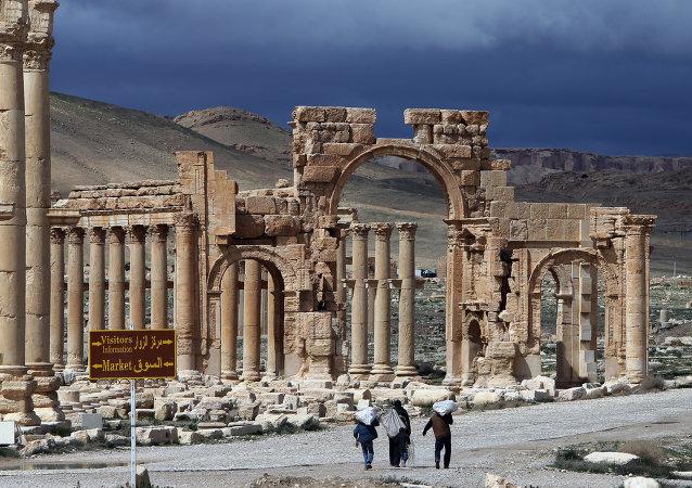 تدمر السورية