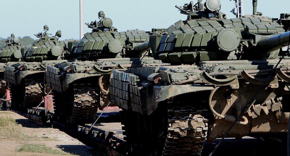 التأكد من مدى الجاهزية القتالية لقوات الروسية