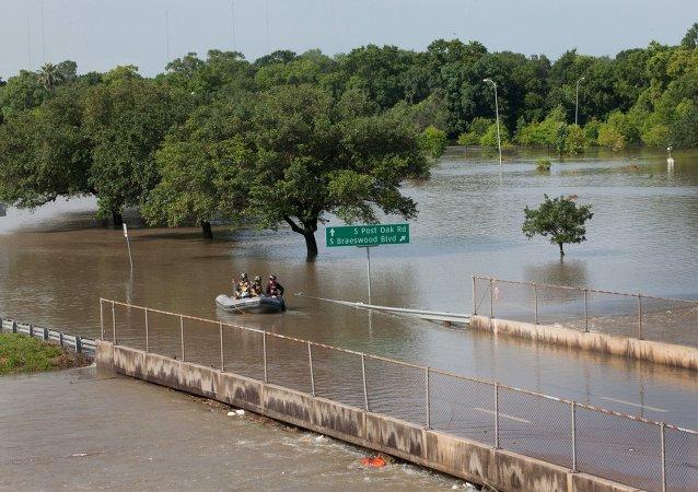 الفيضانات في جنوب الولايات المتحدة