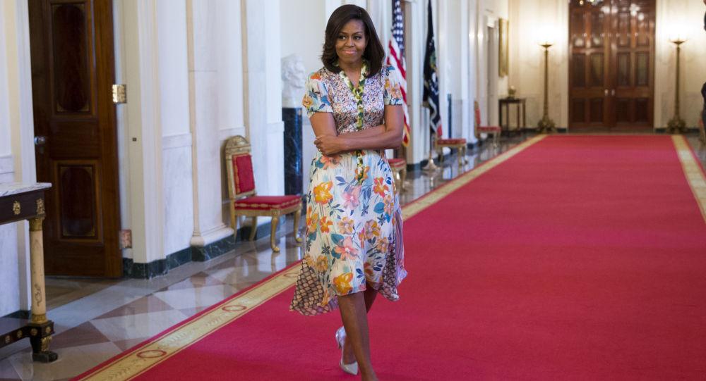 ميشيل أوباما السيدة الأولي فى أمريكا