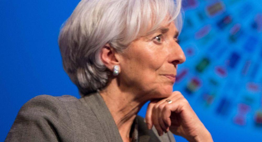 كريستين لاغارد، رئيس صندوق النقد الدولي
